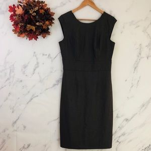 The Limited Brown Sheath Dress